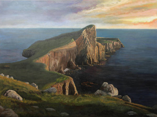 Neist Point, un bout du monde